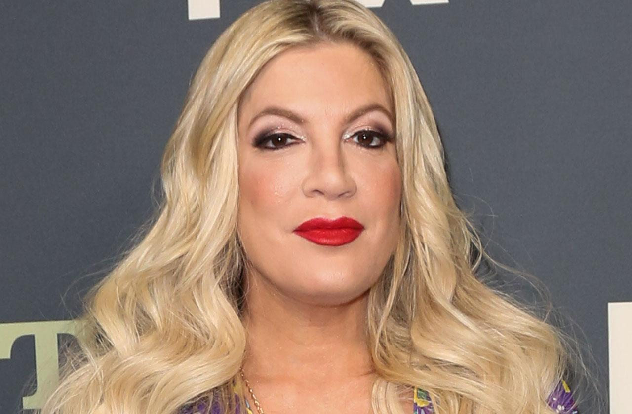 Broke Tori Spelling Gets Beverly Hills 90210 Revival Pay Day