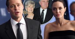 Brad Pitt Parents Jane Pitt Bill Pitt