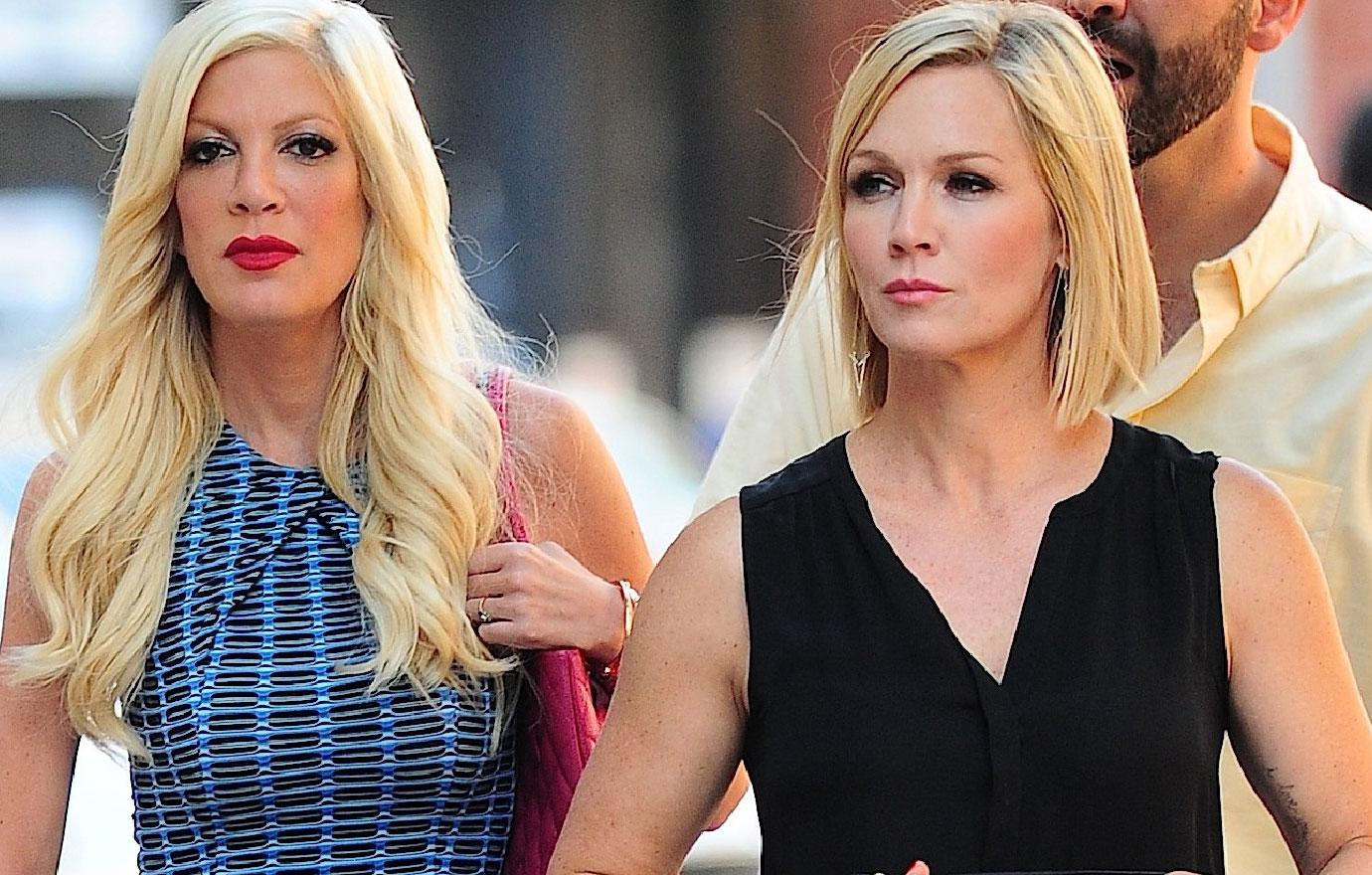 Tori Spelling Returning To Work With Jennie Garth After Meltdowns
