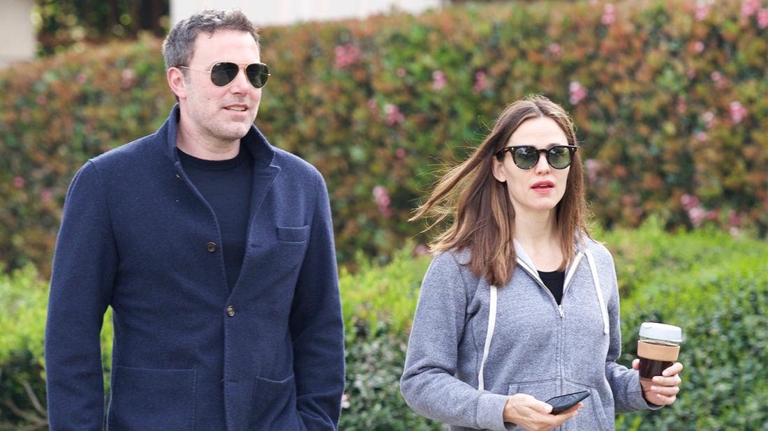 Ben Affleck Happy During Walk With Ex Jen Amid Talks Of Shacking Up With Lindsey