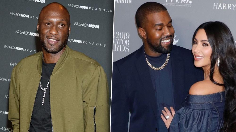 Lamar Odom Addresses Former Sister-In-Law Kim Kardashian and Kanye West Split Rumors