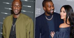 Lamar Odom Addresses Former Sister-In-Law Kim Kardashian and Kanye West Split Rumors