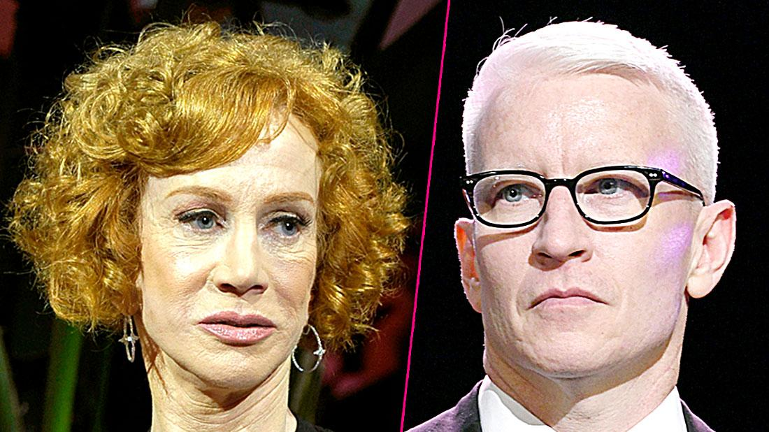 Kathy Griffin Slams Ex BFF Anderson Cooper again