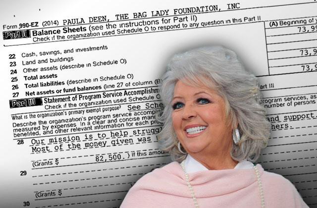 Paula Deen Charity Donations