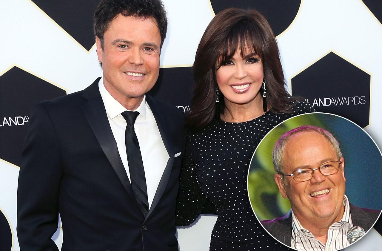 Donnie And Marie Osmond's Brother Tom On Life Support Following Quadruple Bypass