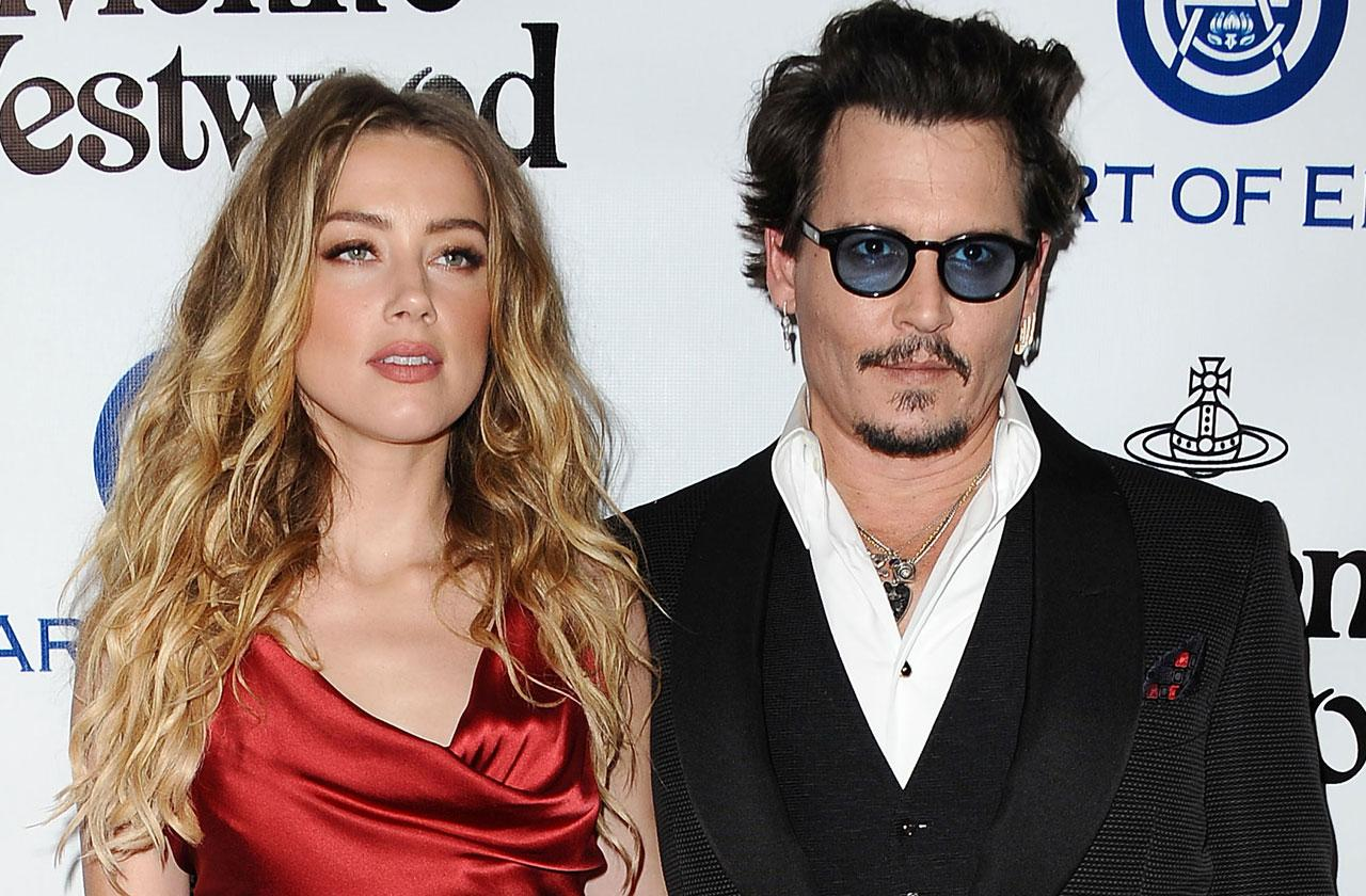 Johnny Depp Pain Amber Heard Divorce