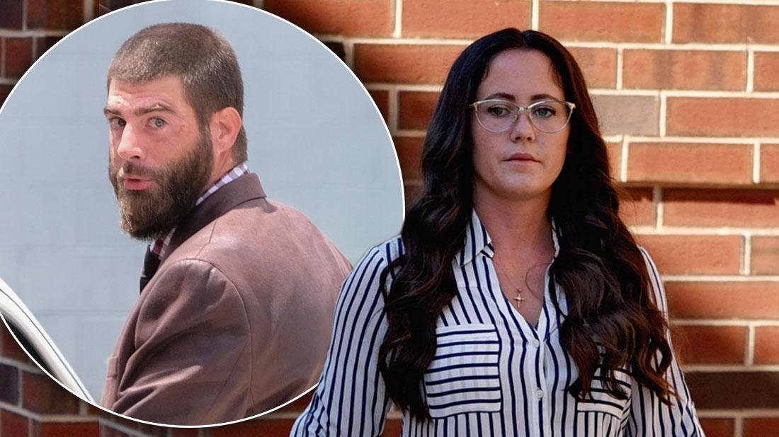 Jenelle Evans and David Eason divorce papers
