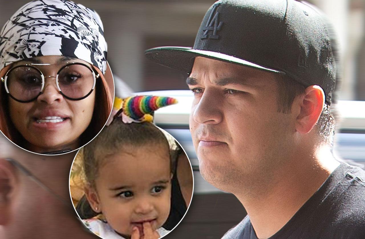 Rob Kardashian Full Custody Daughter Dream