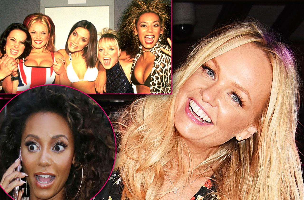 Emma Bunton Puked Mel B Mouth Spice Girls Party