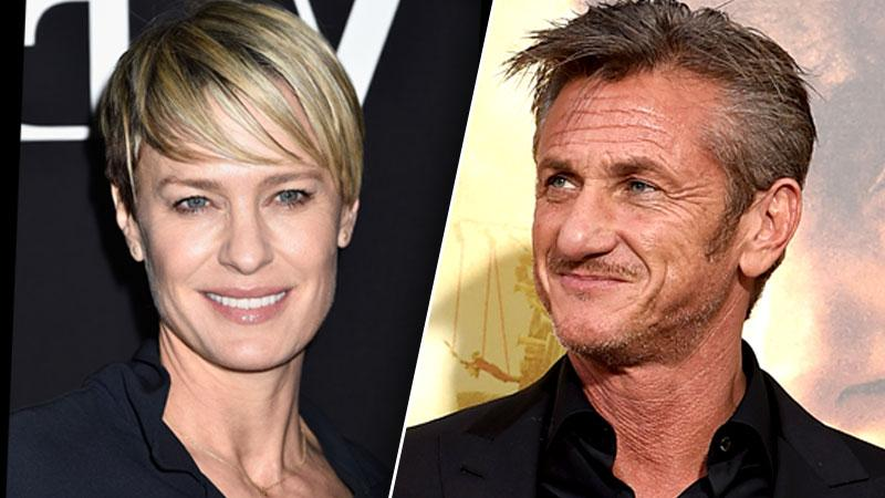 Sean Penn & Robin Wright Penn Talking Again