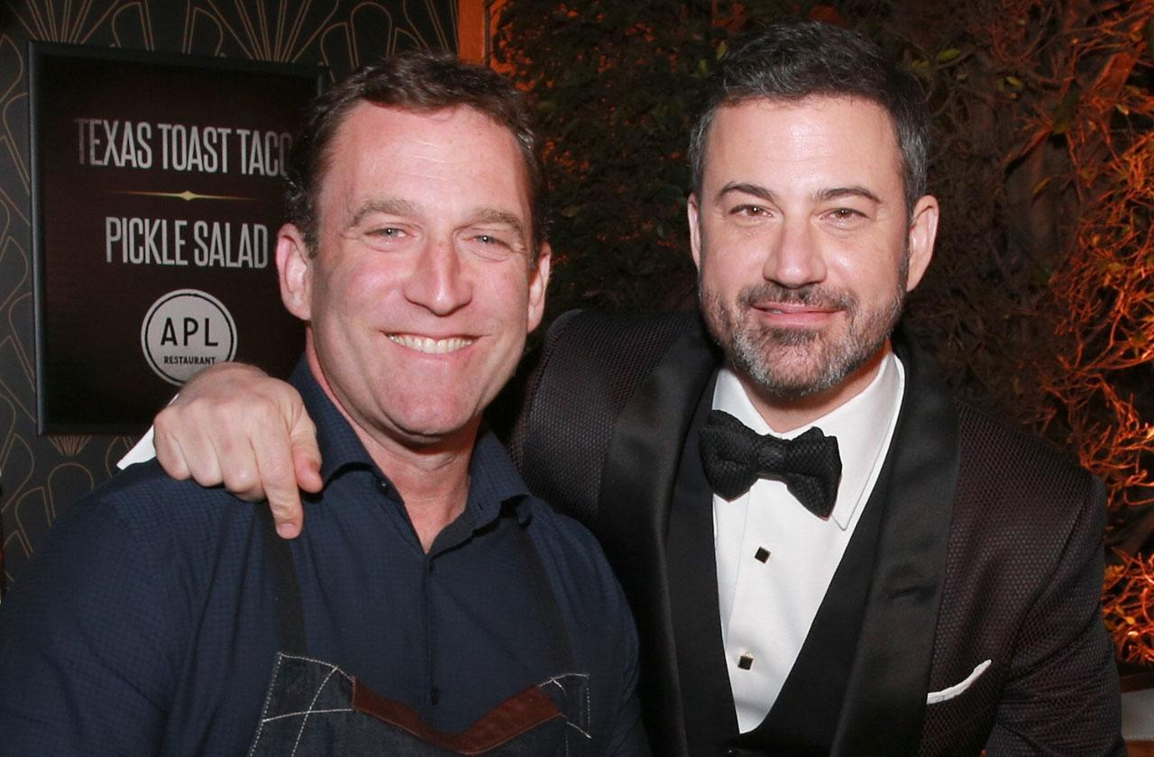 Chef Perry Lang Arrest Jimmy Kimmel