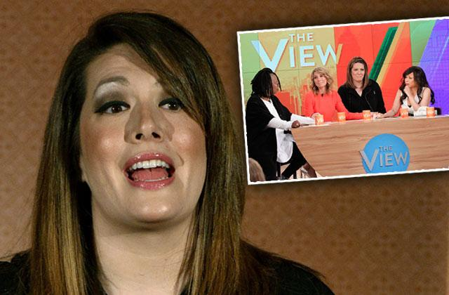 the view fired michelle collins