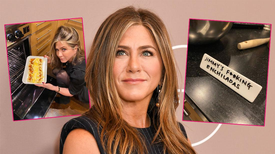 Jennifer Aniston Celebrates 'Friendsgiving' Teasing Jimmy Kimmel