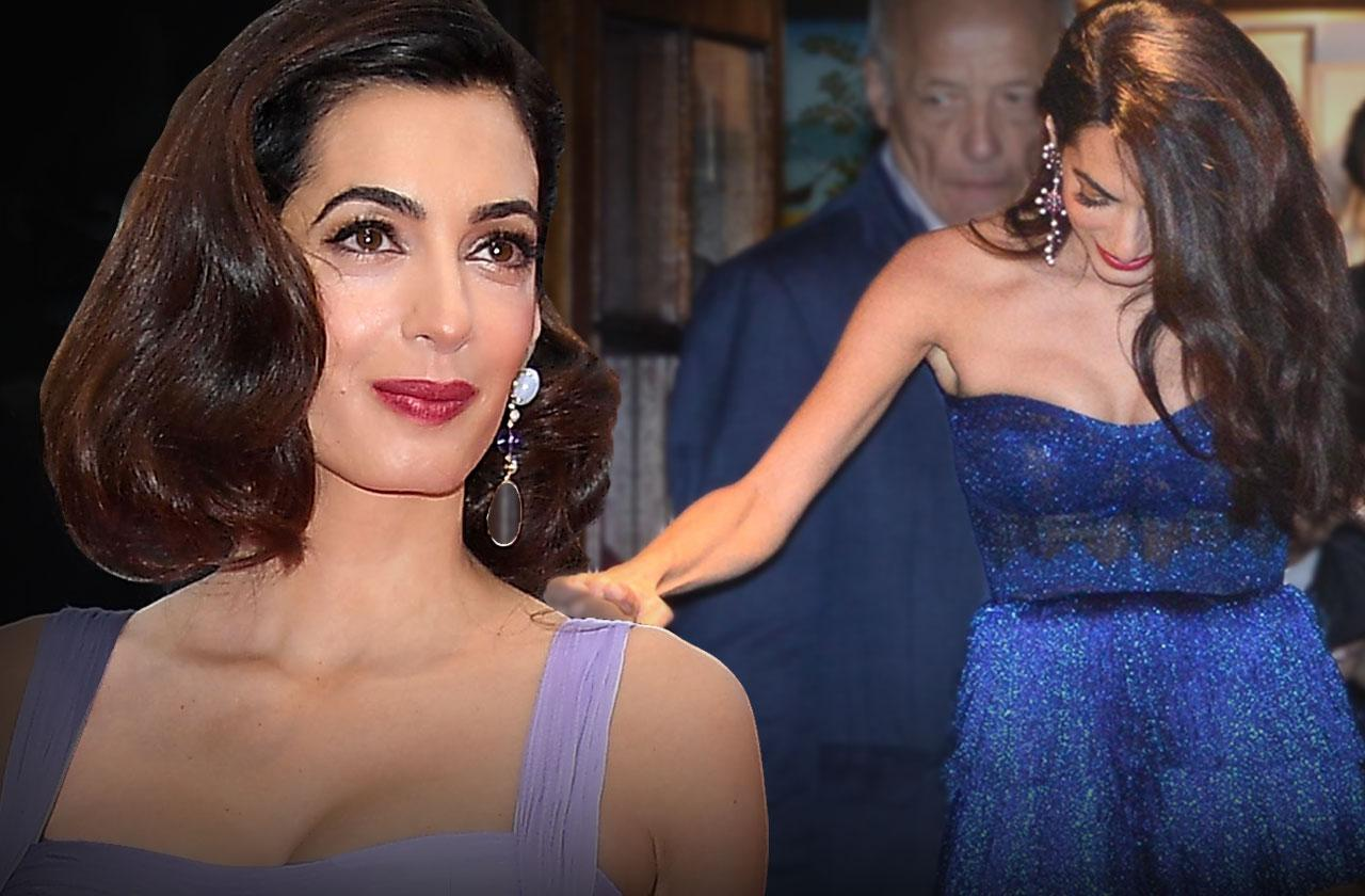 Amal Clooney – George Clooney's Wife Drops 50 Lbs. Of Baby Weight In Just Five Weeks
