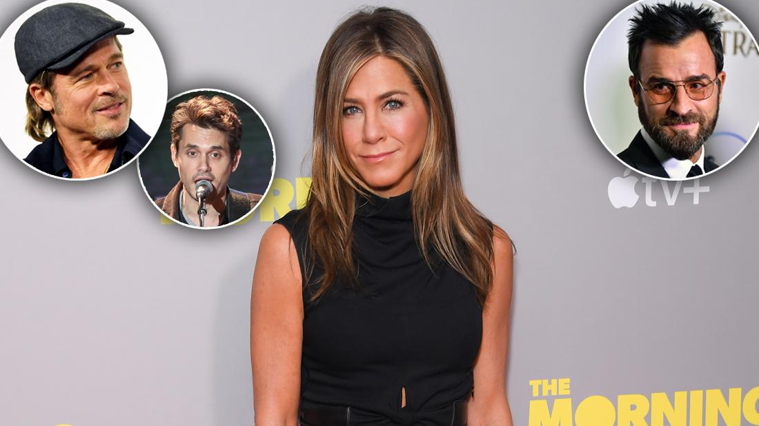 Jennifer Aniston Admits She's Grateful For All Her Ex-Boyfriends