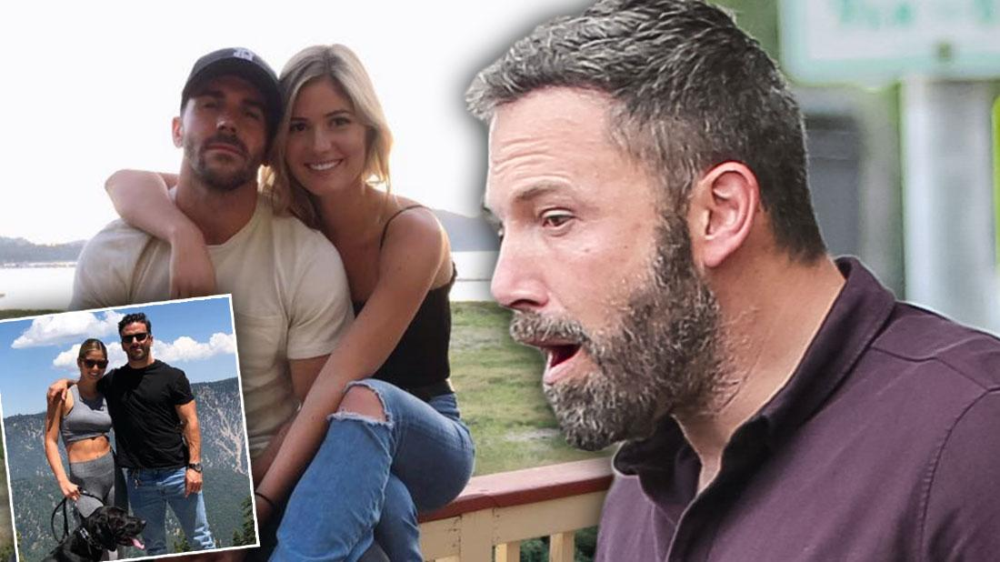Ben's Playboy Model Ex Shauna Sexton Moves On With Affleck Lookalike