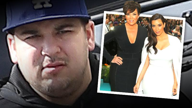 //rob kardashian family leaked story alleged drug use pp
