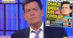 //charlie sheen hiv positive today matt lauer pp