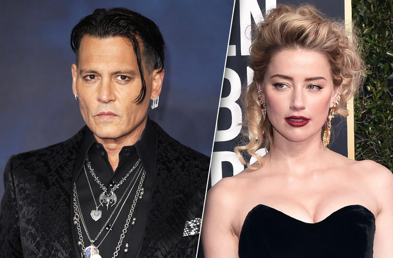 Johnny Depp Witnesses Amber Heard
