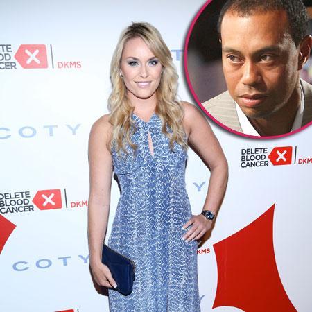 Lindsey Vonn, Tiger Woods