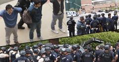 //ucla shooter gun campus lockdown students police