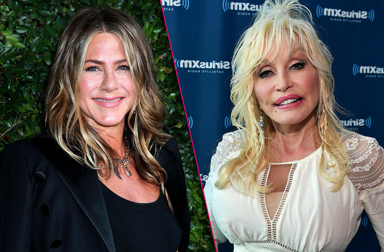 Jennifer Aniston And Dolly Parton Friendship New Movie