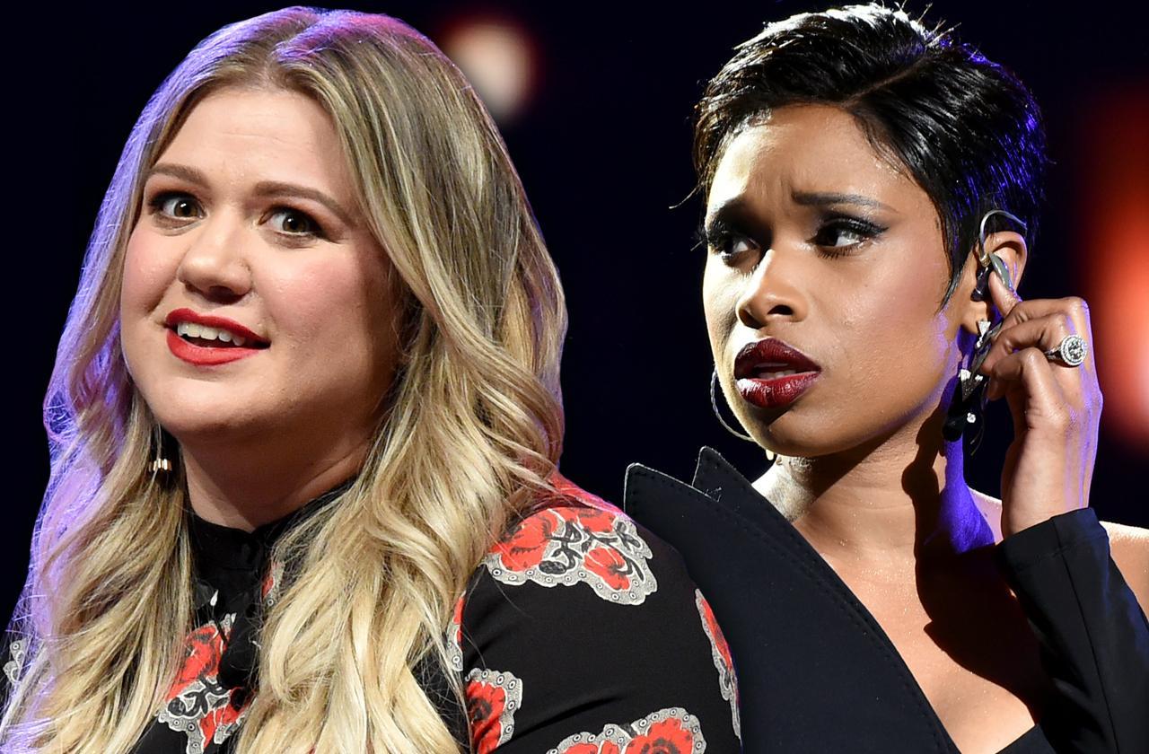 Kelly Clarkson Jennifer Hudson Voice Feud