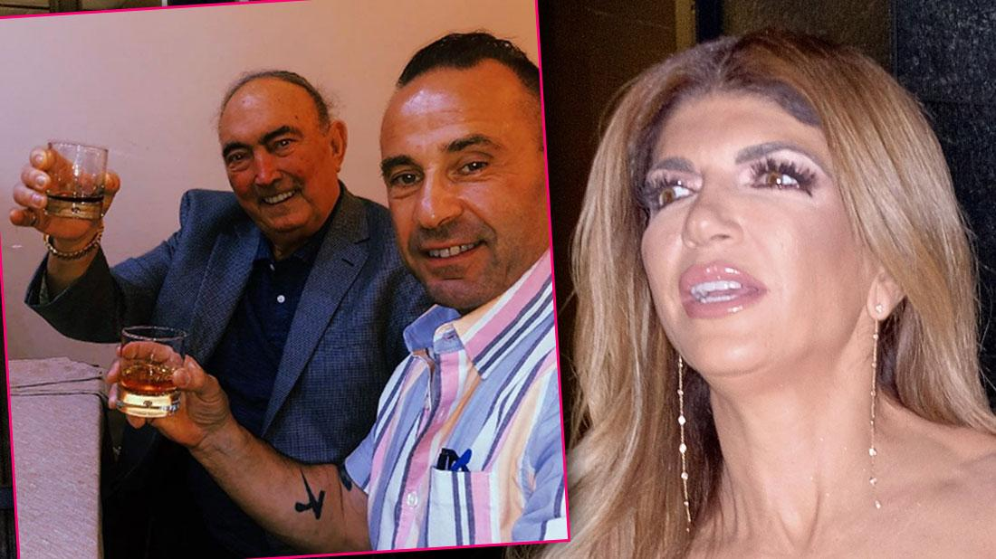 Joe Giudice Joins Instagram, Poses With Teresa's Father In Italy