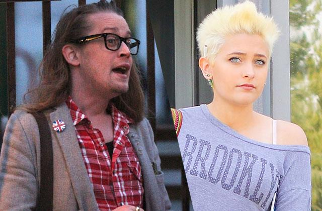 Paris Jackson Godfather Macaulay Culkin