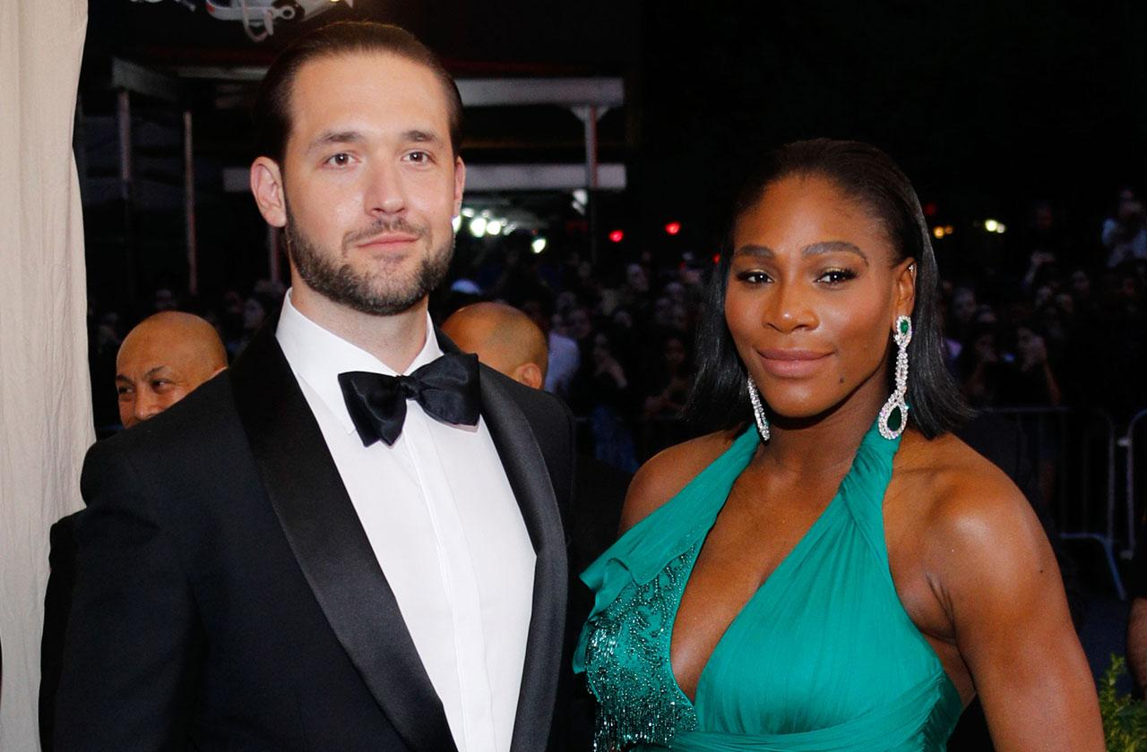 serena williams alexis ohanian wedding details