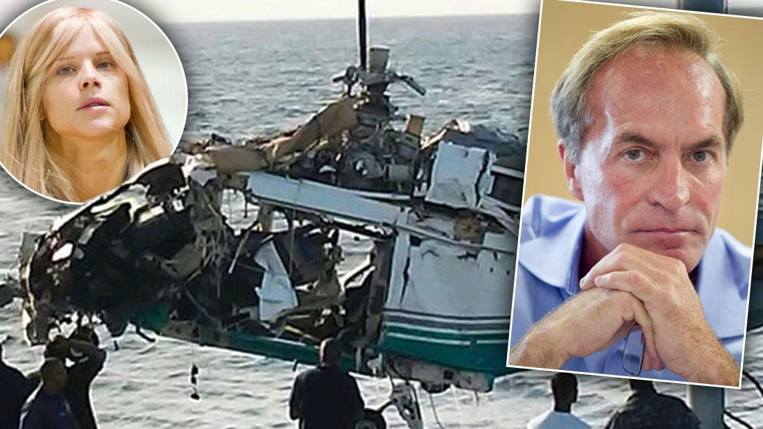 Police Recover Helicopter In Which Billionaire Chris Cline Died