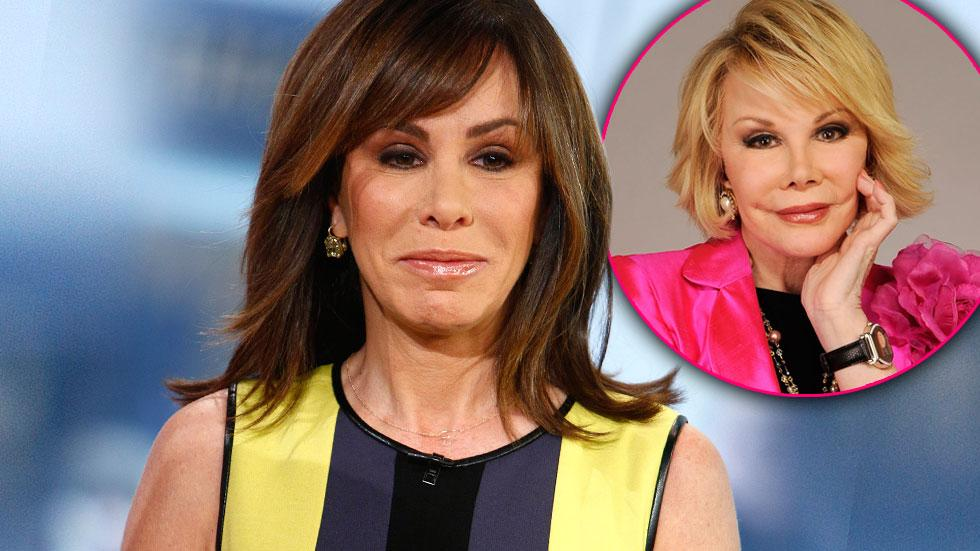 Melissa Rivers Joan Fashion Police