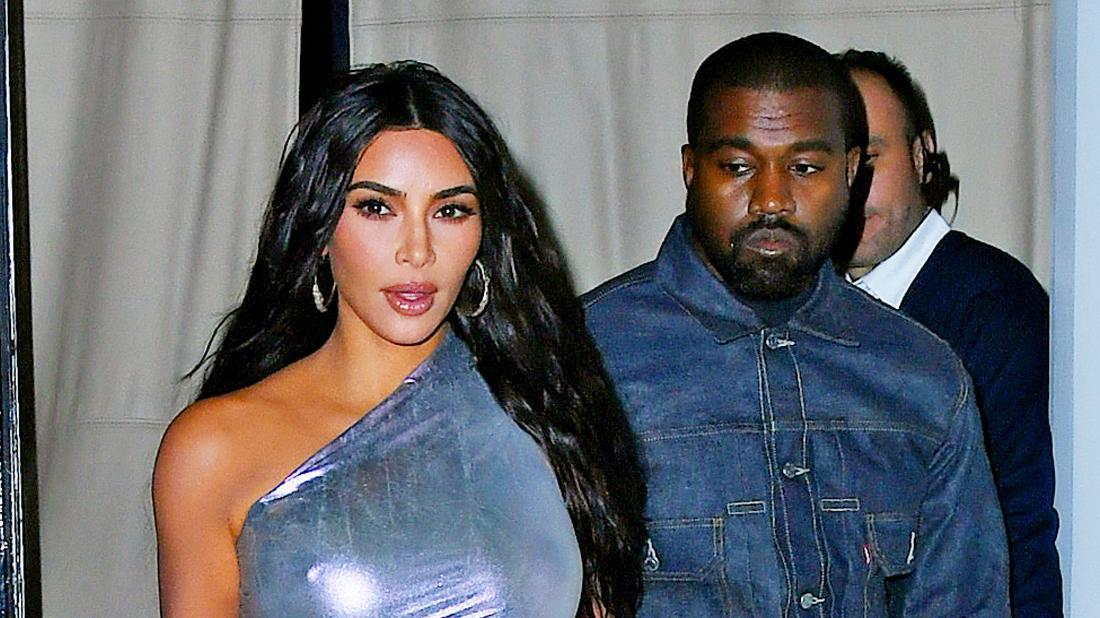 Kim Kardashian Is 'Not Happy' With Wild Hubby Kanye West's Crazy Behavior