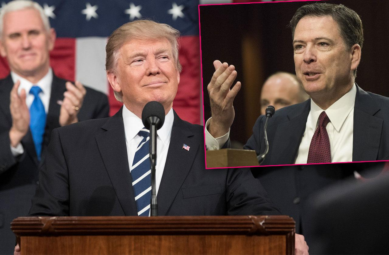 //james comey tells all on briefing donald trump russian meddling presidential election pp
