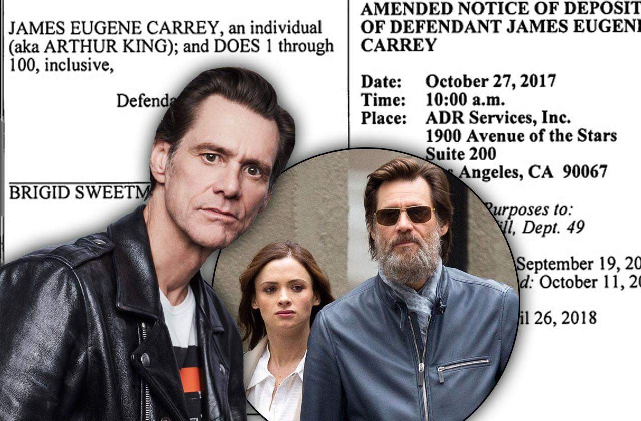 jim carrey testify ex girlfriend cathriona white wrongful death lawsuit