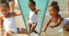 //north west cute bathing suit beach st barts pp