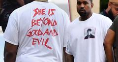 Kanye West Takes Dig At Taylor Swift With T Shirt Slogan