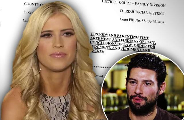 //christina el moussa boyfriend nate thompson custody case cristin stuart pp