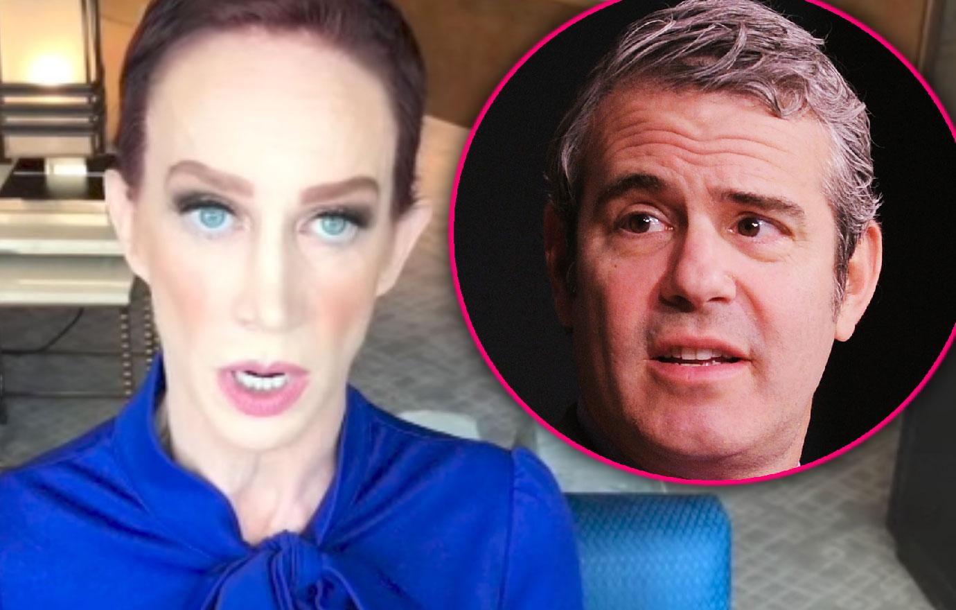 Kathy Griffin Claims Andy Cohen Offered Her Cocaine