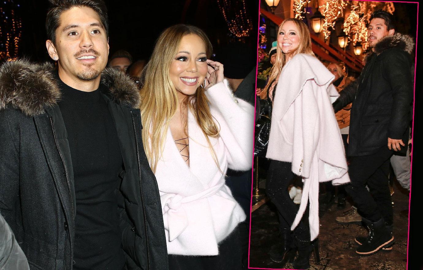 Mariah Carey And Bryan Tanaka Have Fun In Paris