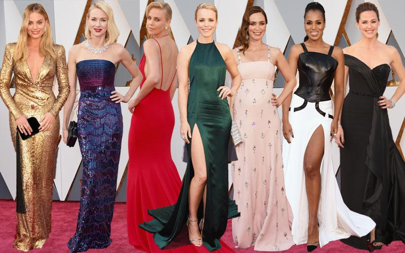 Academy Awards Oscars 2016 Red Carpet Celebrities Arrivals
