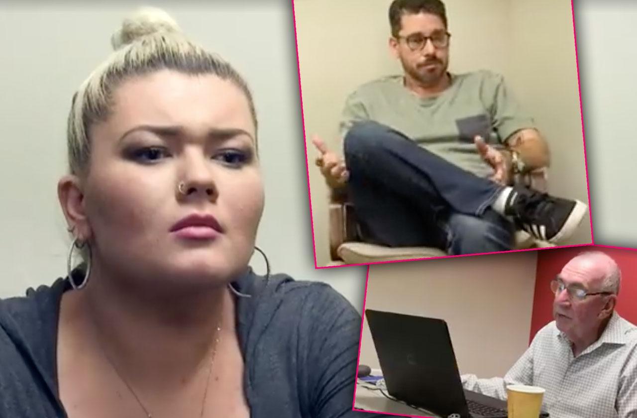 amber portwood fiance matt baier lie detector test cheating caught on camera