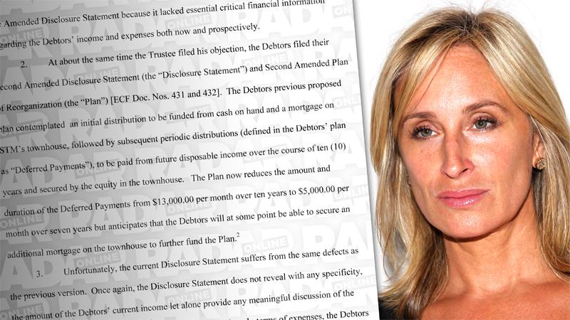 //sonja morgan trustee hopes courts reject bankruptcy proposal pp sl
