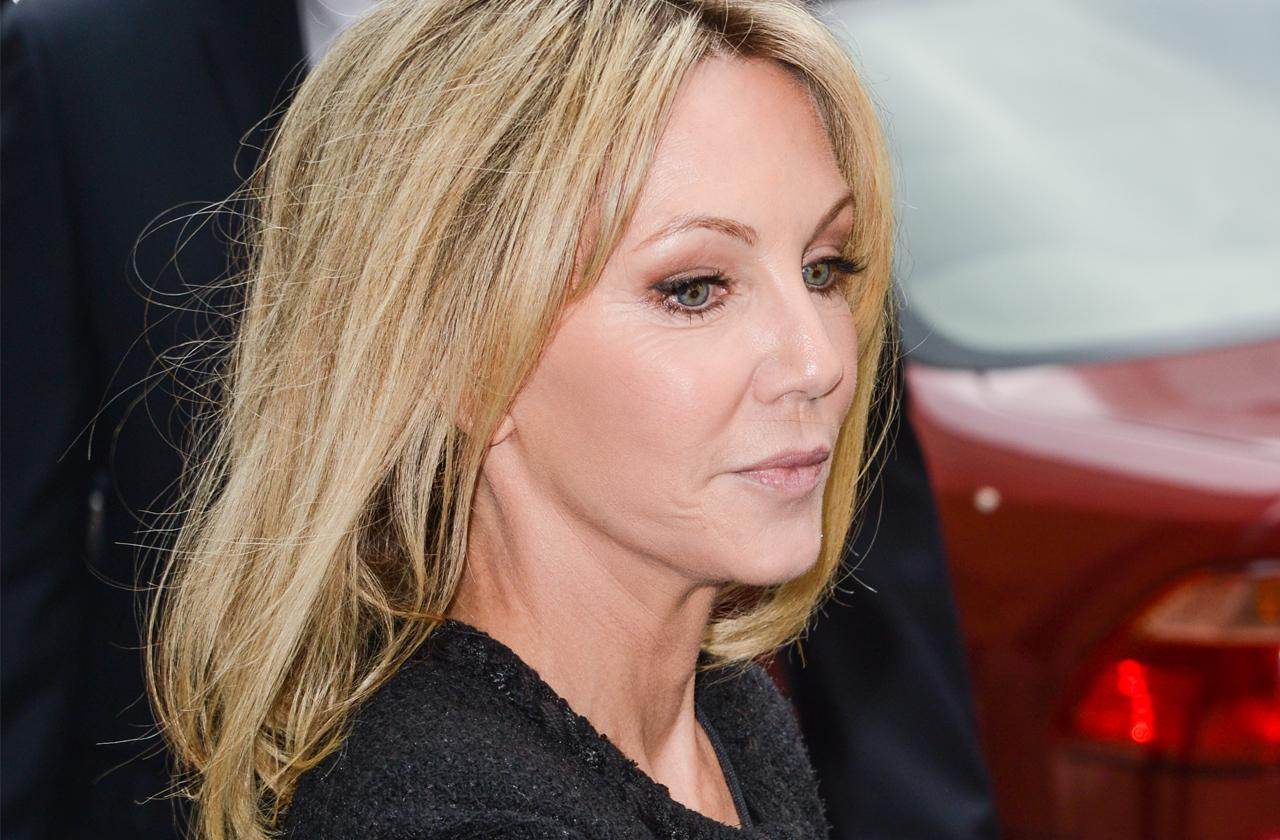 Heather Locklear Staying Treatment Thanksgiving Maybe Christmas