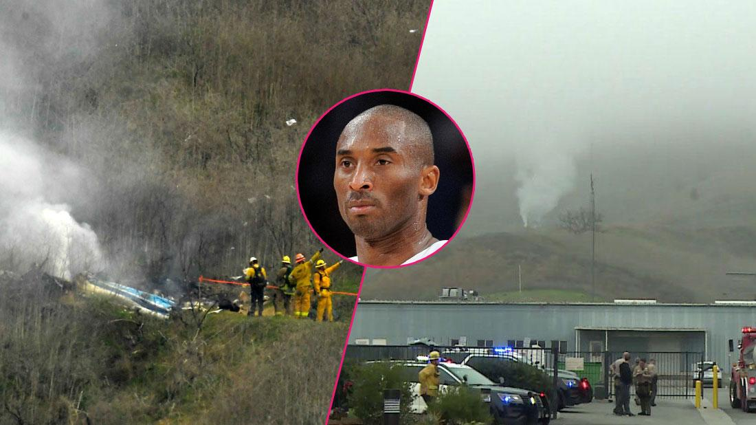 Kobe Bryant Dies Helicopter Crash Scene