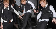 Ed Sheeran Drunk At Brit Awards
