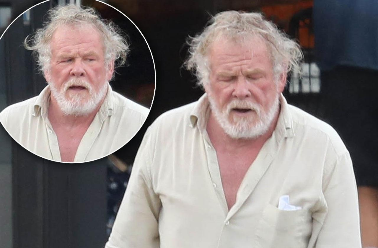 //nick nolte party days over pp