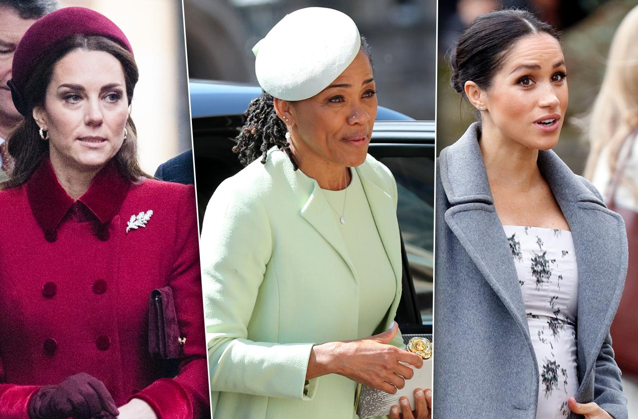 Meghan Markle Turns To Mom Doria As Royal Feud With Kate Middleton Intensifies