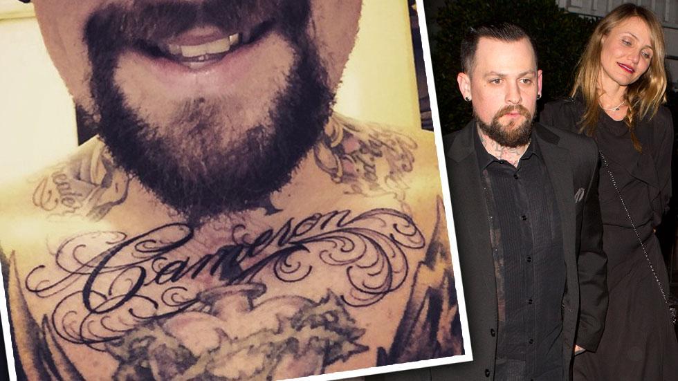 Benji Madden Cameron Diaz Tattoo