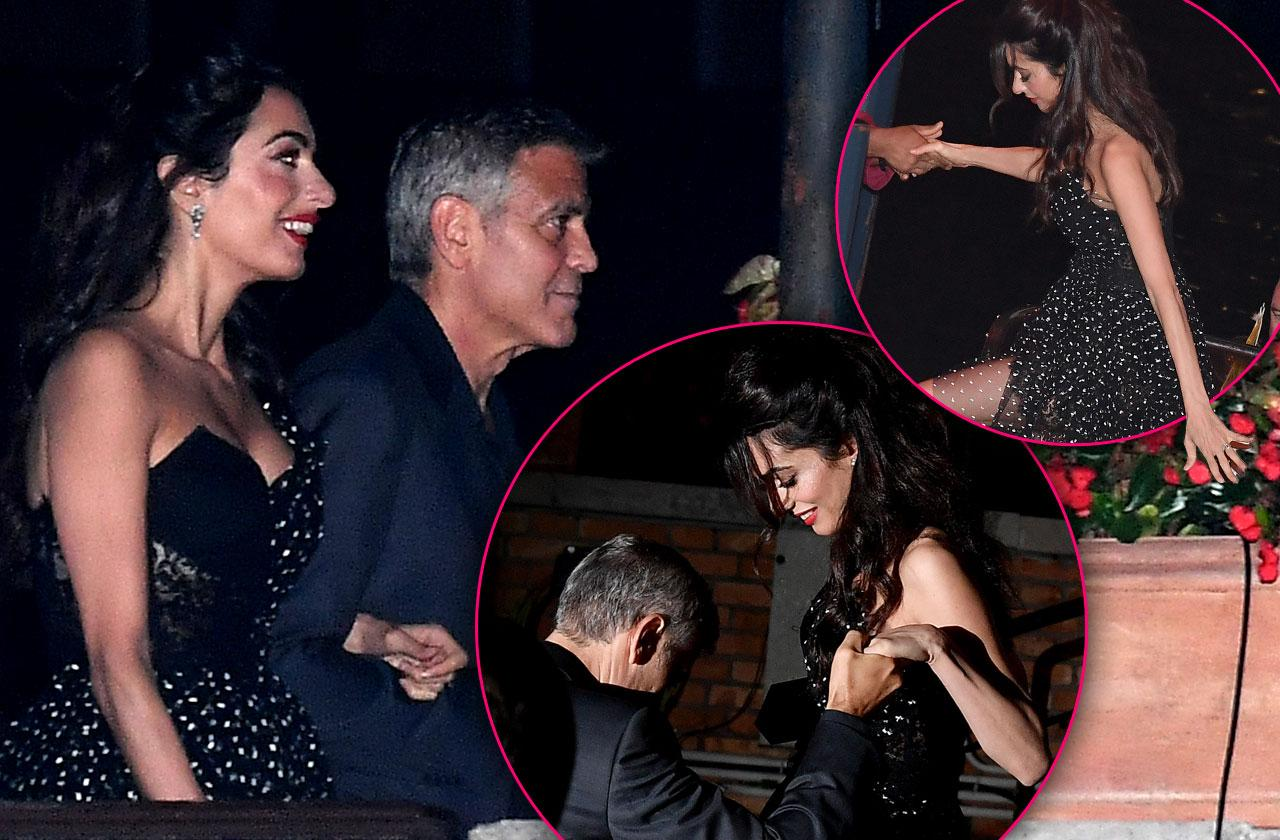 //Amal clooney skinny weight loss pp
